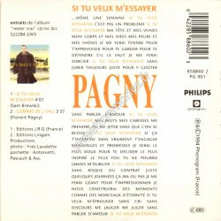 si tu veux m essayer lyrics Paroles si tu veux m'essayer par florent pagny lyrics.