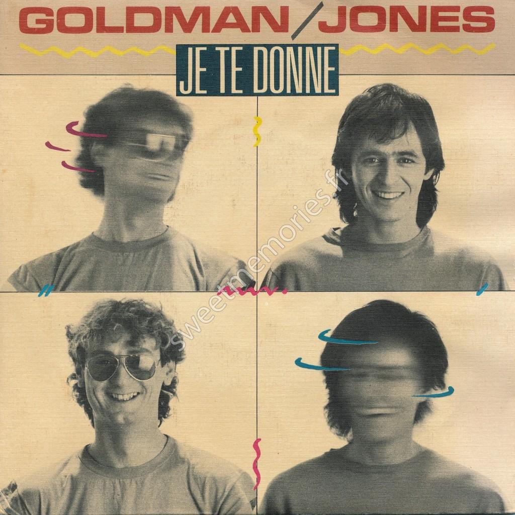 Jean-Jacques Goldman/Michael Jones – Je te donne