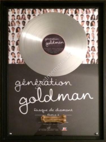 Génération Goldman – Disque de diamant