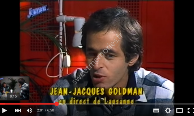 Fredericks – Goldman – Jones – 22 aout 1988 – Interview Ivan Fressart