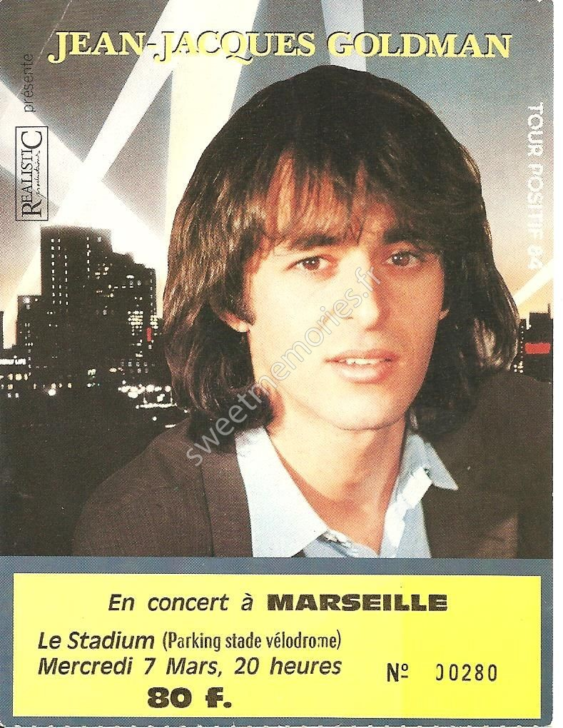 Jean-Jacques Goldman – Positif tour 84